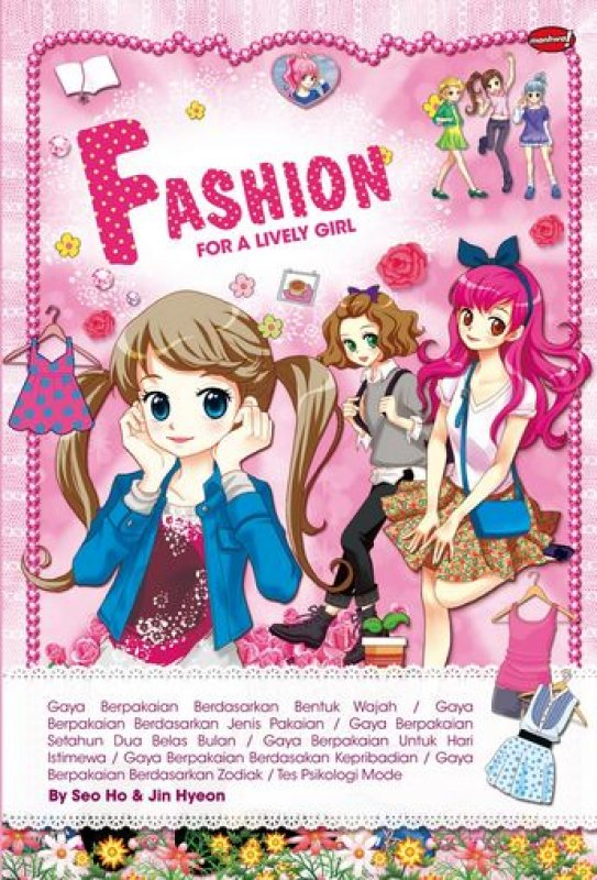 Cover Buku Fashion For A Lively Girl