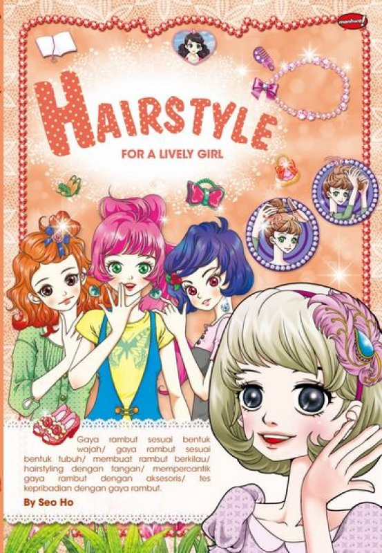 Cover Buku Hairstyle For A Lively Girl