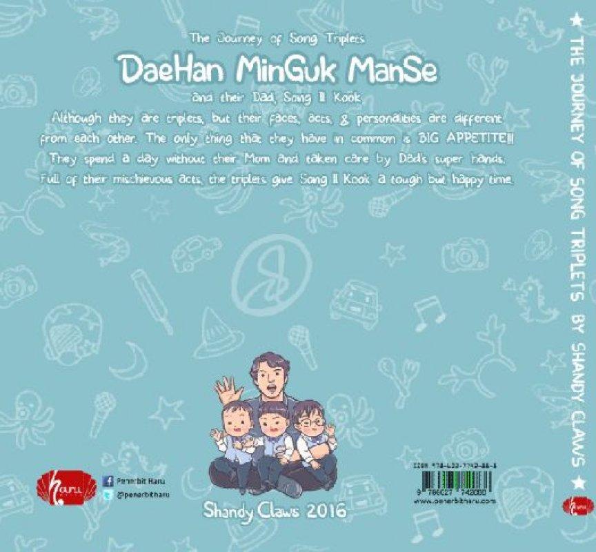 Cover Belakang Buku The Journey of Song Triplets