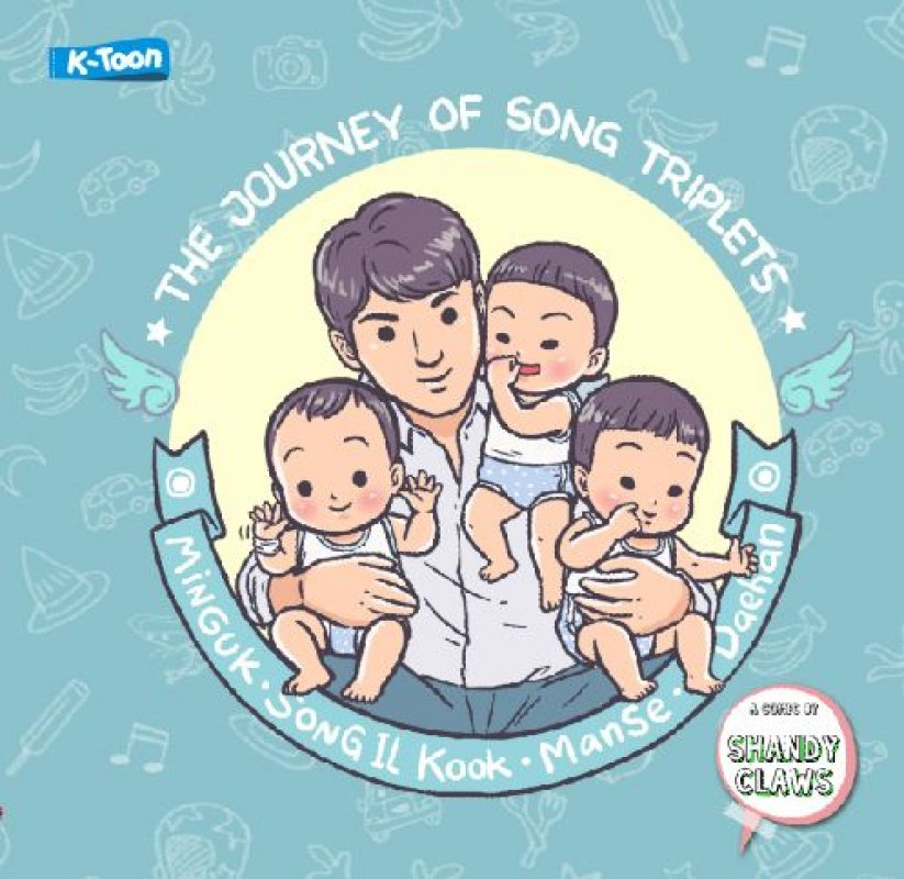 Cover Buku The Journey of Song Triplets