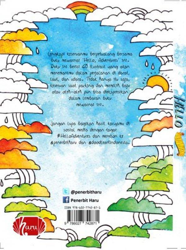 Cover Belakang Buku Hello, Adventure