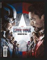 Majalah Cinemags Cover Captain America: Civil War | Edisi 201 - April 2016