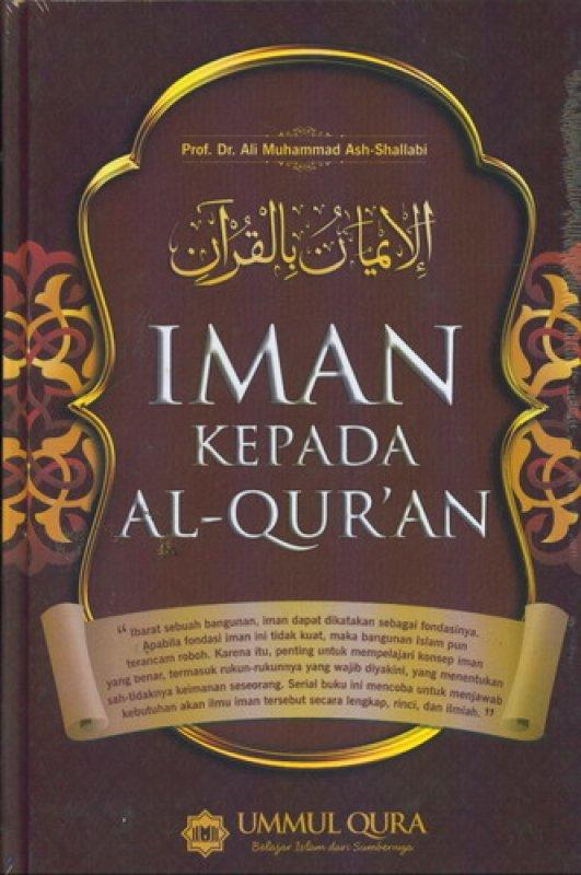 Cover Buku Iman Kepada Al-Quran