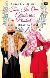 Busana Muslimah Two in One Eksplorasi Brokat