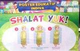 Poster Shalat Yuk [Poster Edukatif Indiva]