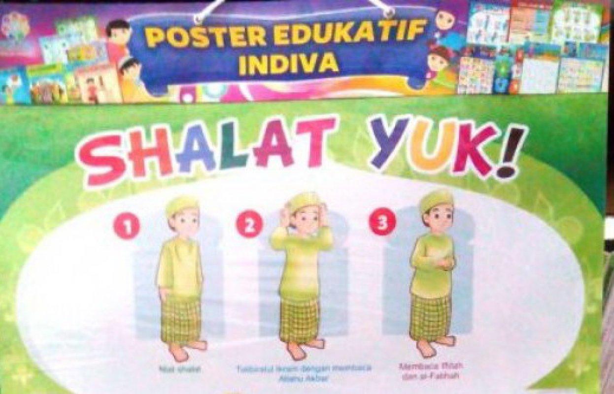 Cover Buku Poster Shalat Yuk [Poster Edukatif Indiva]