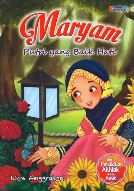 Cover Buku Maryam Putri Yang Baik Hati