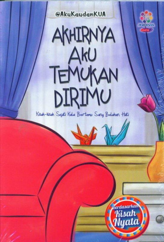 Cover Buku Akhirnya Aku Temukan Dirimu