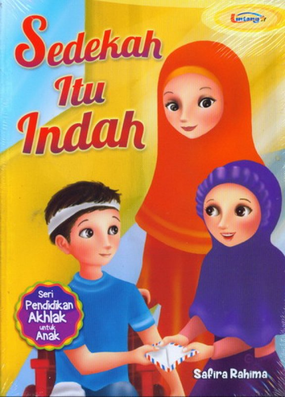 Cover Buku Sedekah Itu Indah
