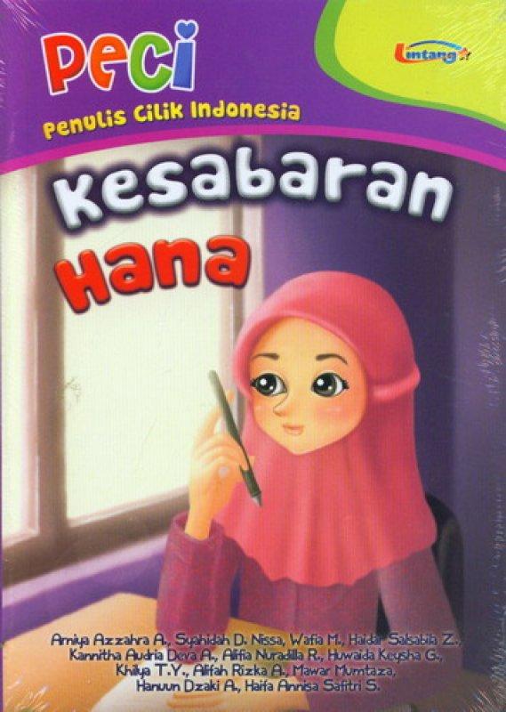 Cover Buku PECI: Kesabaran Hana