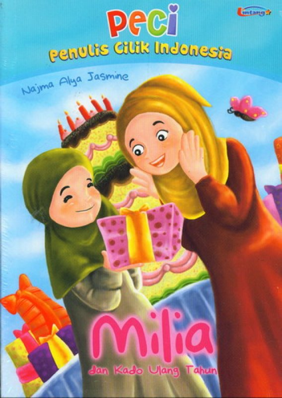 Cover Buku PECI: Milia dan Kado Ulang Tahun