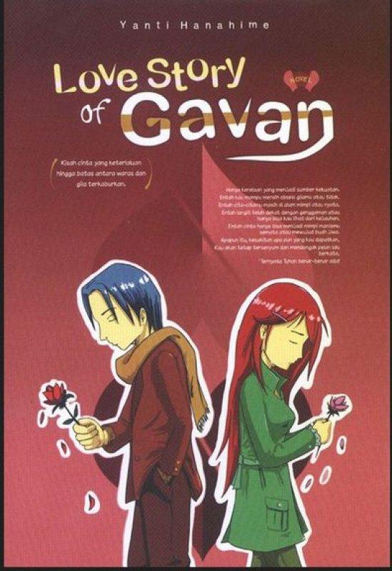 Cover Buku Love Story Of Gavan