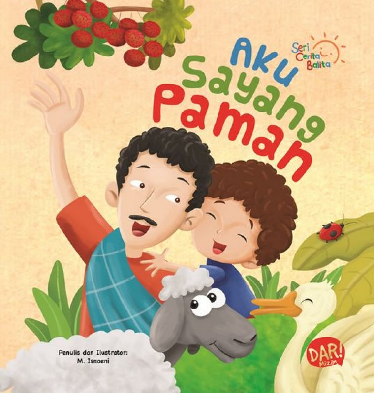 Cover Buku Scb: Aku Sayang Paman (Board Book) Hard Cover (Disc 50%)