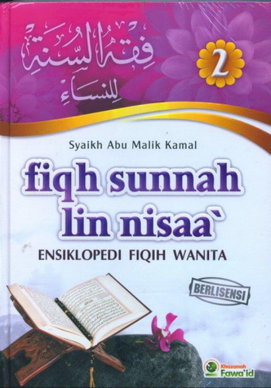 Cover Buku Fiqh Sunnah Lin Nisaa Jilid 2 (Ensiklopedi Fiqih Wanita)