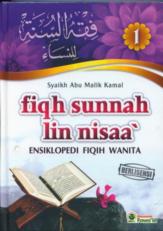 Cover Buku Fiqh Sunnah Lin Nisaa Jilid 1 (Ensiklopedi Fiqih Wanita)