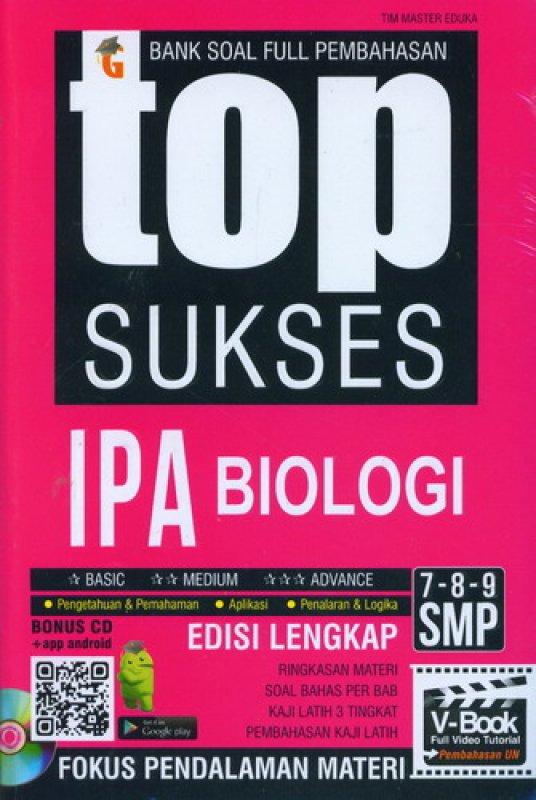 Cover Buku Top Sukses IPA Biologi SMP Kelas 7-8-9