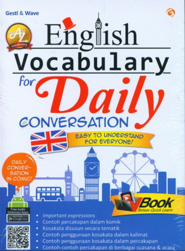 Cover English Vocabulary for Daily Conversation