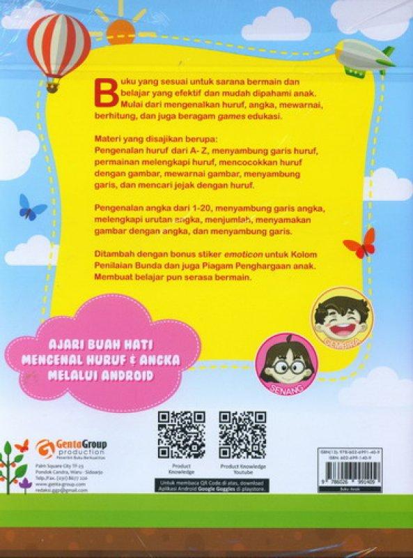 Cover Belakang Buku Aku Bisa Menulis Huruf dan Angka Plus Mengenal Benda, Mewarnai, Bermain Kreatif (Full Color)