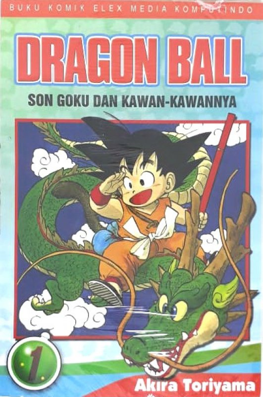 Cover Buku Dragon Ball 01