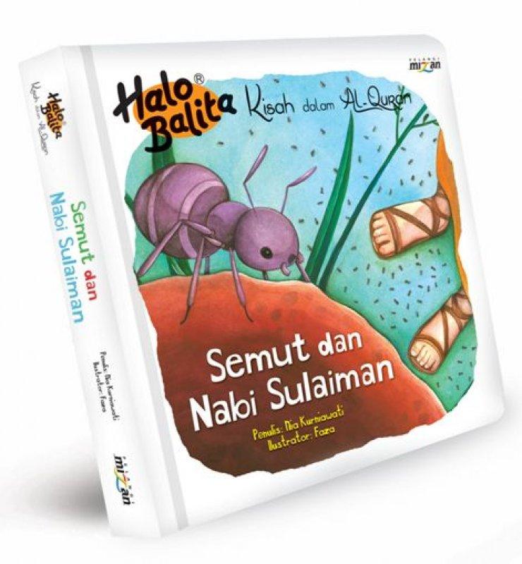 Cover Buku Halo Balita Kda: Semut Dan Nabi Sulaiman