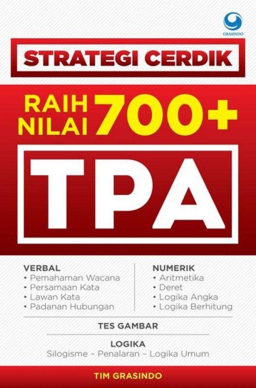 Cover Buku Strategi Cerdik Raih Nilai 700+ TPA