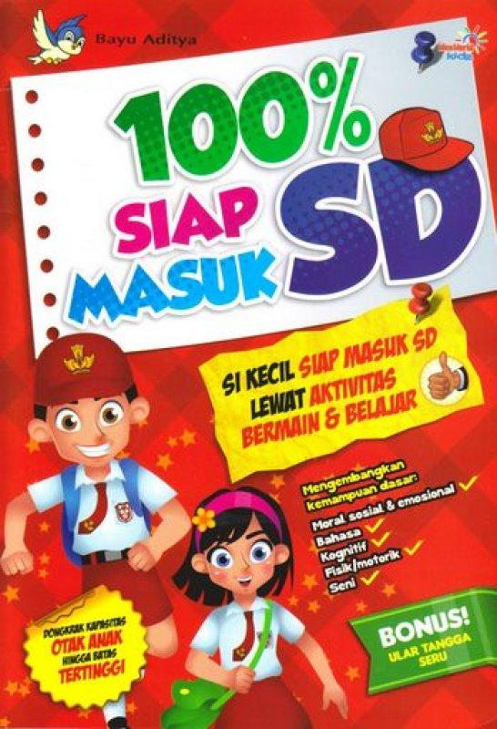 Cover Buku 100% Siap Masuk SD
