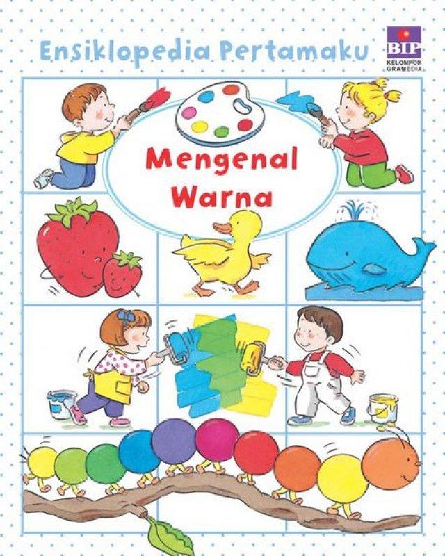 Cover Buku Ensiklopedia Pertamaku: Warna