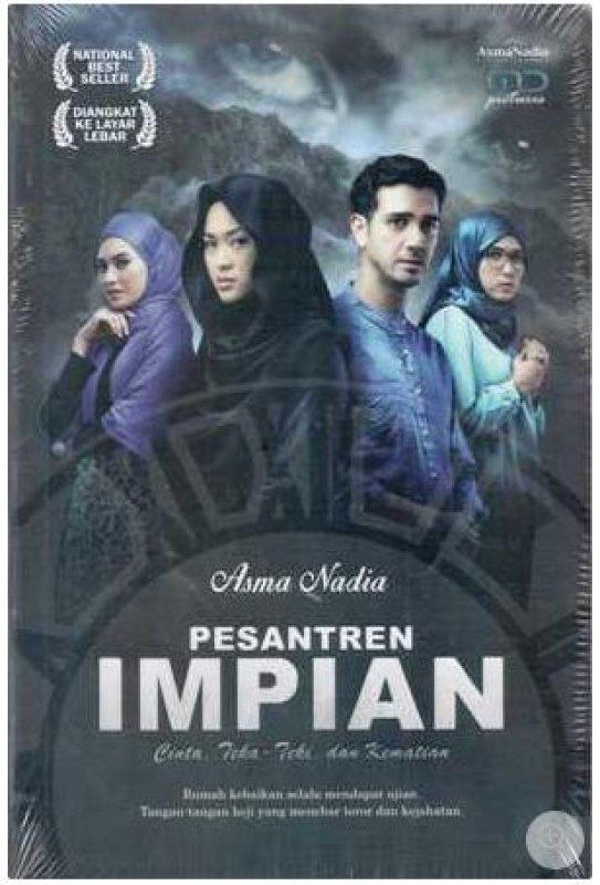 Cover Buku Pesantren Impian Cover Film
