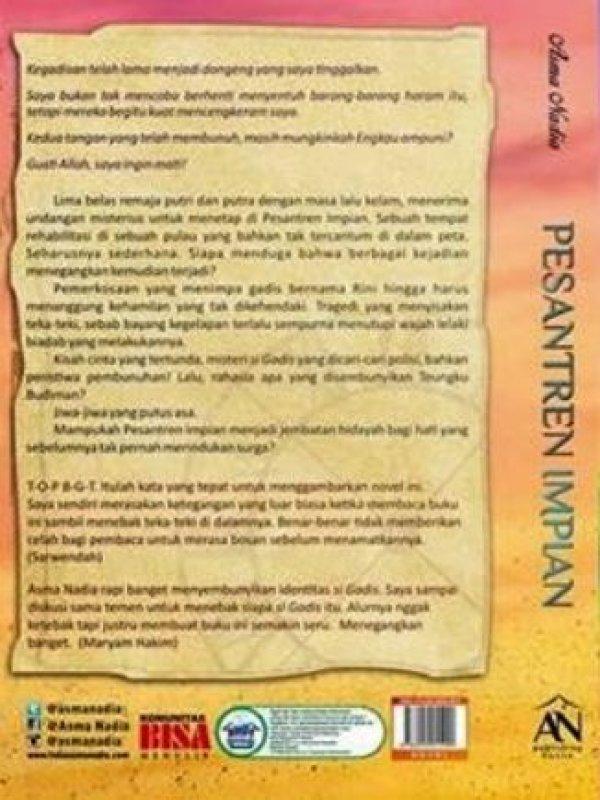 Cover Belakang Buku Pesantren Impian (Asmanadia_25%)