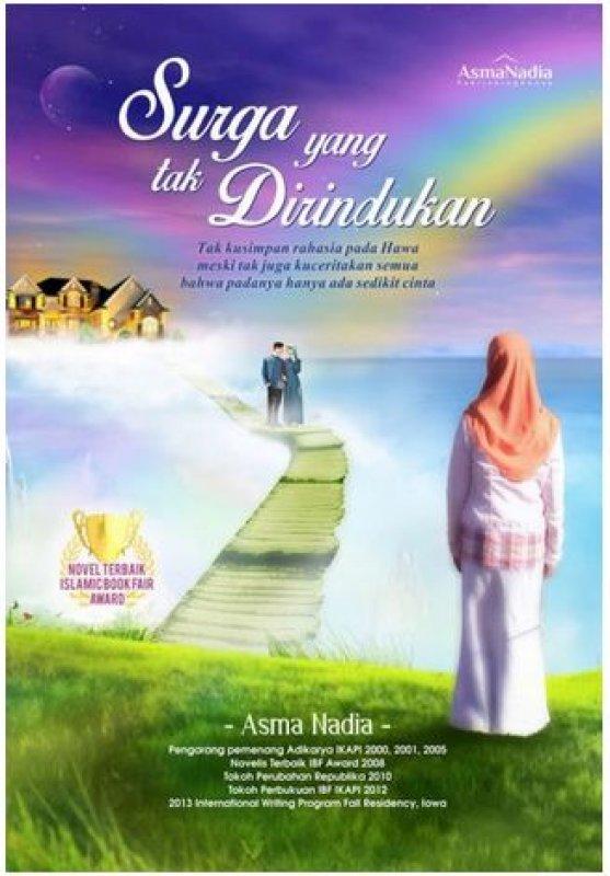 Cover Buku Surga yang tak di rindukan (Asmanadia_25%)
