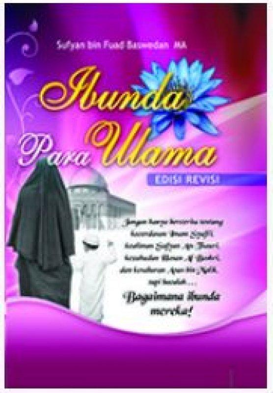 Cover Buku ibunda para ulama Edisi Revisi