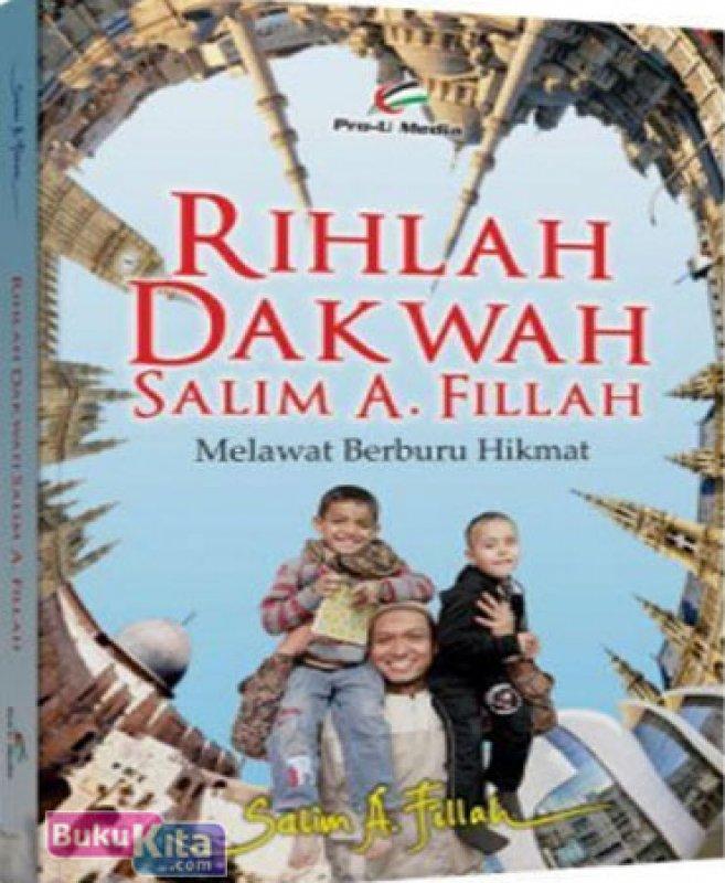 Cover Buku Rihlah Dakwah Salim A. Fillah