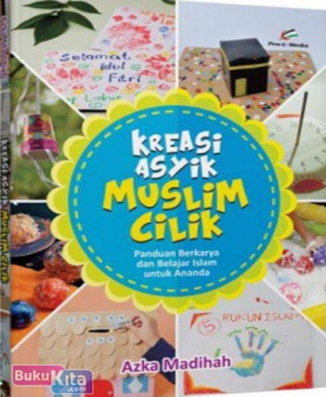 Cover Belakang Buku Kreasi Asyik Muslim Cilik