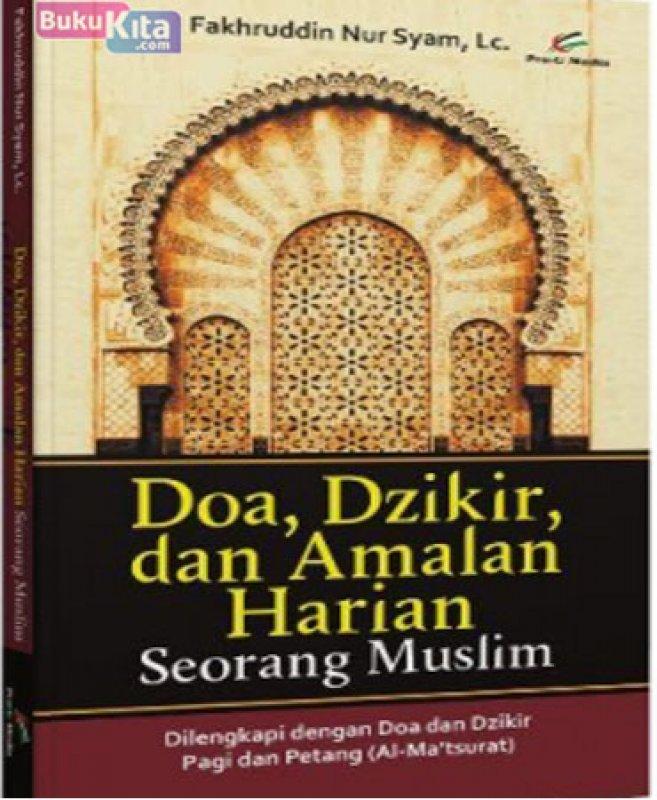 Cover Buku Doa Dzikir dan Amalan Harian