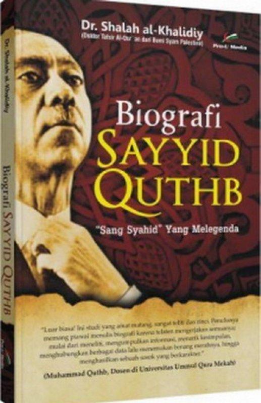 Cover Buku Biografi Sayyid Quthb