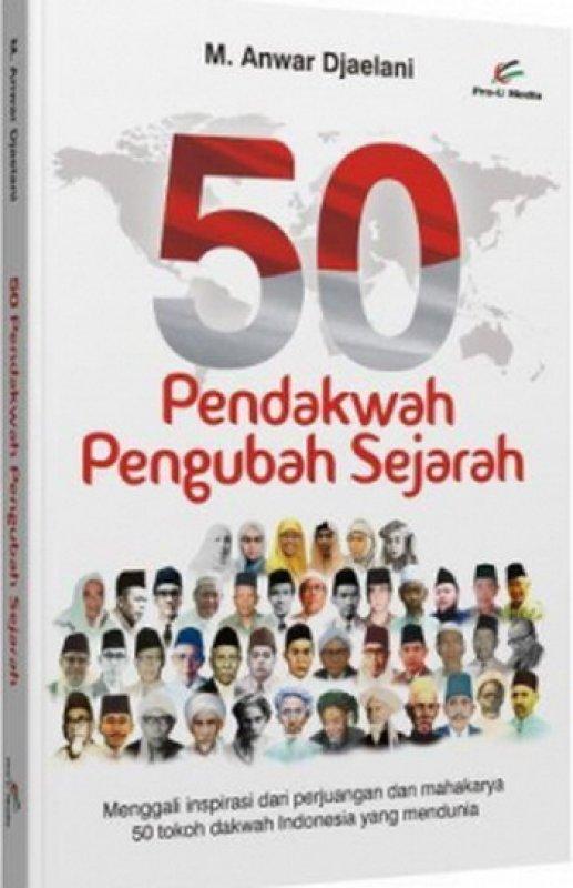 Cover Buku 50 Pendakwah Pengubah Sejarah