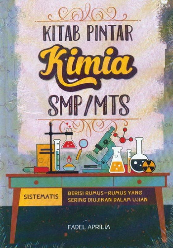 Cover Buku Kitab Pintar Kimia SMP/MTS