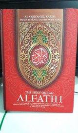 AL-QURANULKARIM TAFSIR PERKATA TAJWID KODE ARAB [The Holy Quran Alfatih A4]