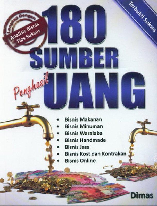 Cover Buku 180 Sumber Penghasil Uang