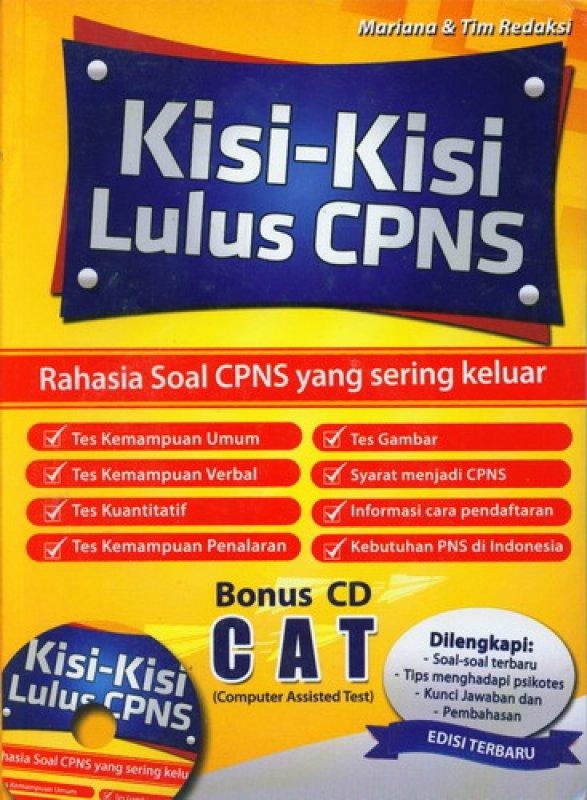 Cover Buku Kisi-Kisi Lulus CPNS [Bonus CD CAT]