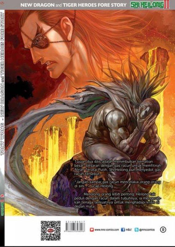 Cover Belakang Buku Shi Heilong II vol. 9