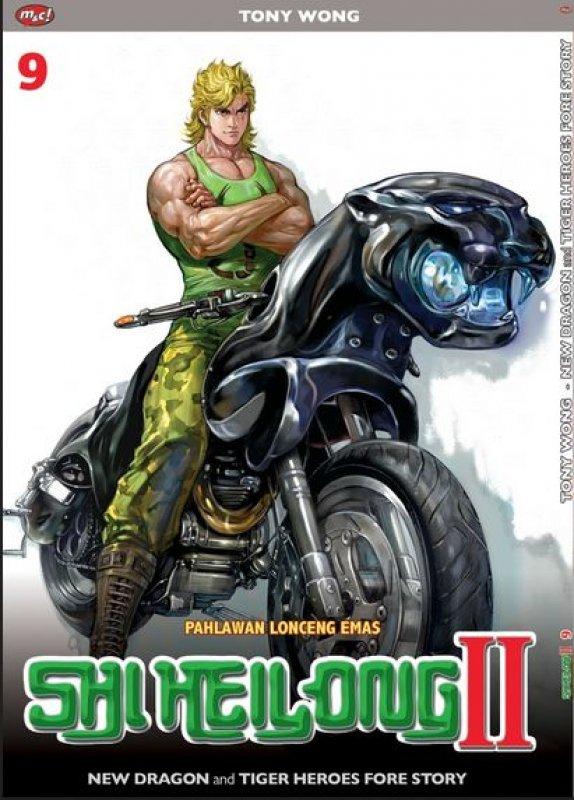 Cover Buku Shi Heilong II vol. 9