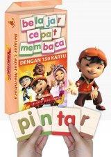 Kartu Belajar Cepat Membaca Bersama Boboiboy