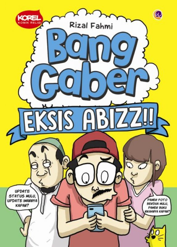 Cover Buku Bang Gaber Eksis Abizz (Disc 50%)