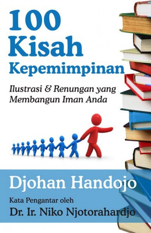 Cover Buku 100 Kisah Kepemimpinan