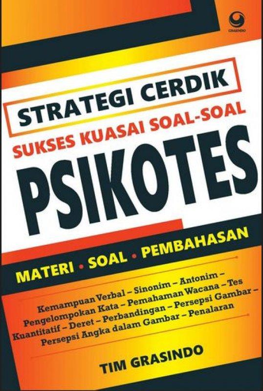 Cover Buku Strategi Cerdik Sukses Kuasai Soal-soal Psikotes
