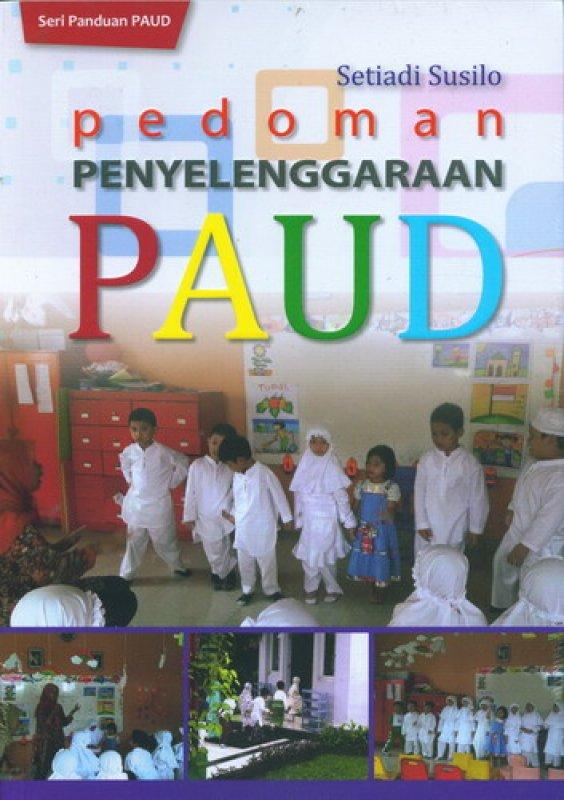 Cover Buku Pedoman Penyelenggaraan PAUD