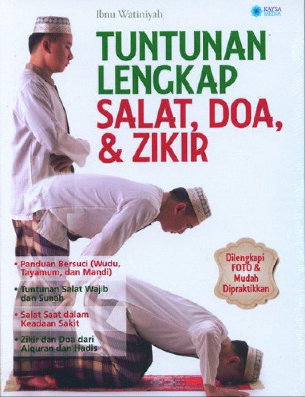 Cover Buku Tuntunan Lengkap Salat. Doa dan Zikir