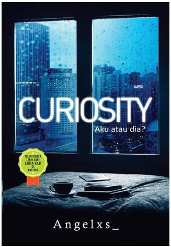 Cover Buku Curiosity: Aku atau dia?