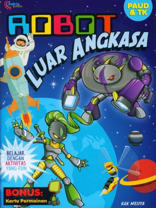 Cover Buku Robot Luar Angkasa [Bonus Kartu Permainan]